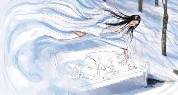 Kisah Hantu Wanita Salju Jepang yang Menyeramkan