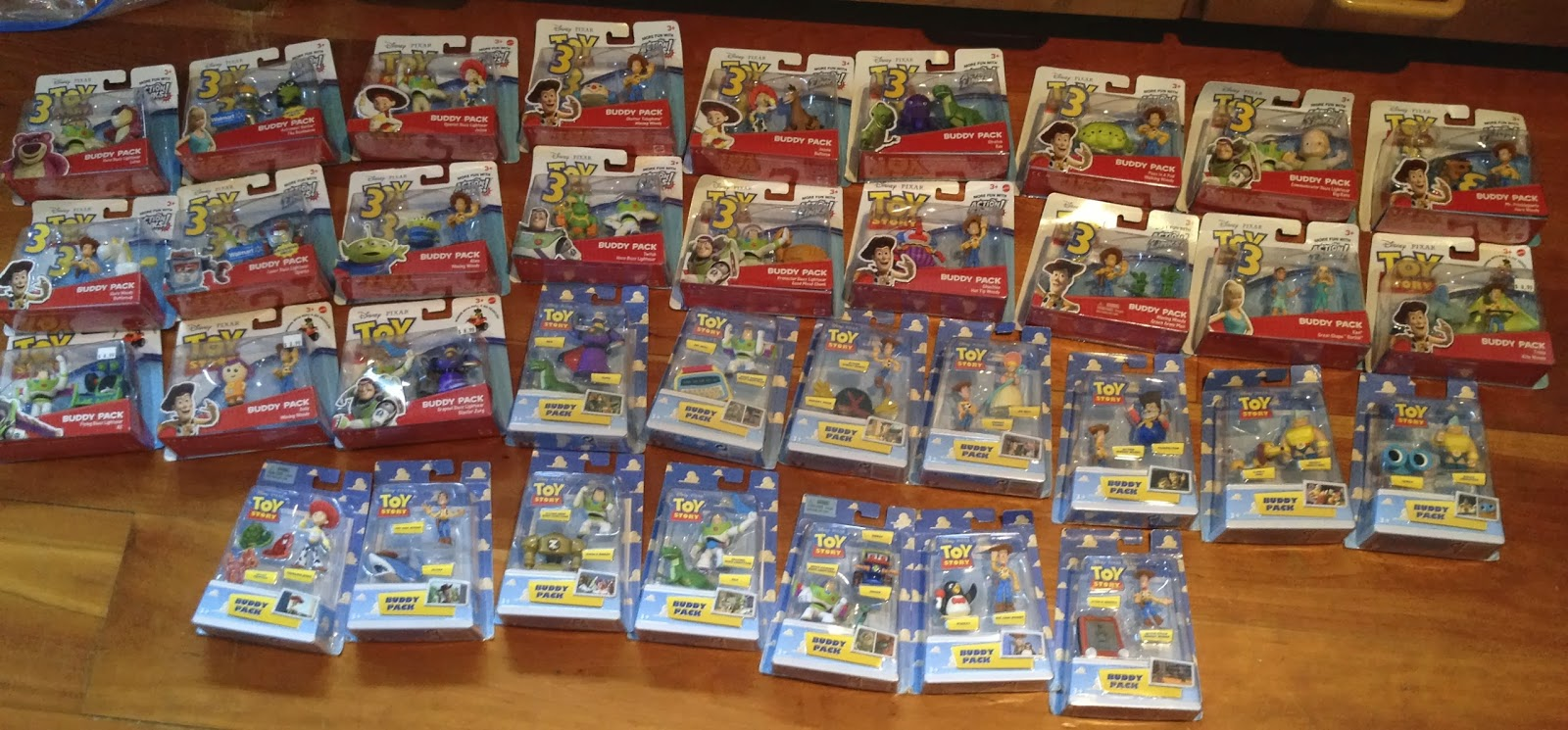 Dan the Pixar Fan  Toy Story  Buddy Packs (UPDATED) 72dc13943af