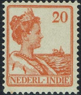 NETHERLANDS INDIES 1913 WILHELMINA
