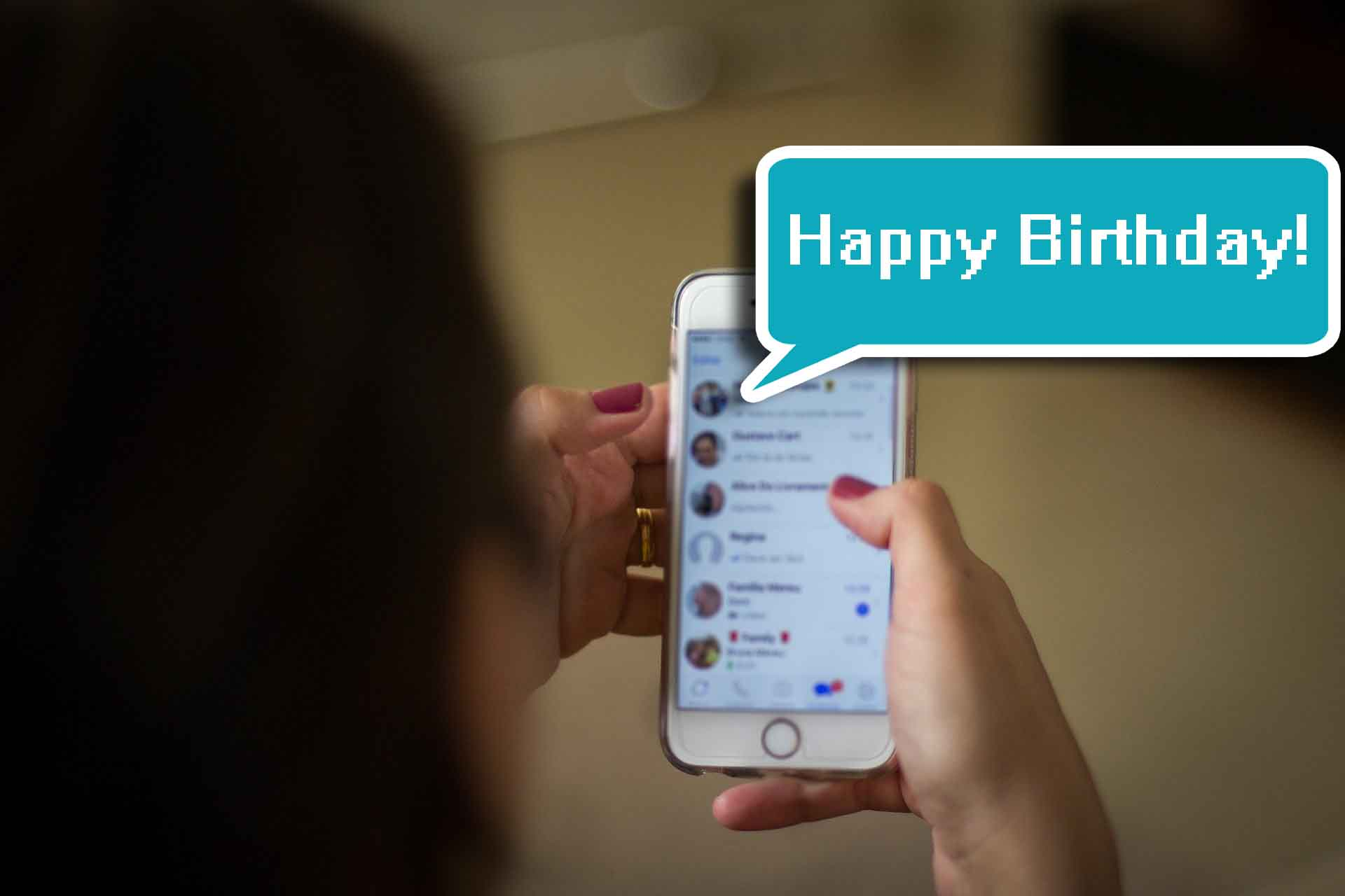 Reply to Birthday Wishes on WhatsApp Group