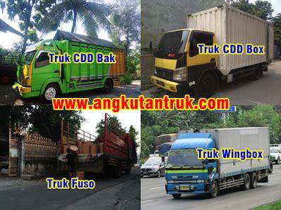 Jenis Truk Ekspedisi Tangerang Solo
