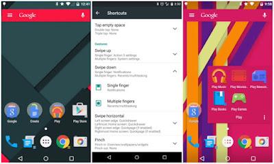 Screenshot Action Launcher 3 Plus