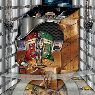 """""""Hábitat Experiencial en el Cosmos"""" Obra de (Ramon Rivas / Spain), presentada en la Feria Internacional de Arte de Shanghai 2020"""