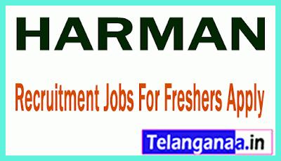 HARMAN Recruitment Jobs For Freshers Apply