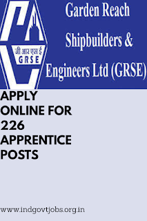 GRSE Limited Recruitment