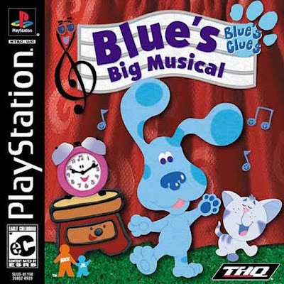 descargar blue's clues blue's big musical psx mega