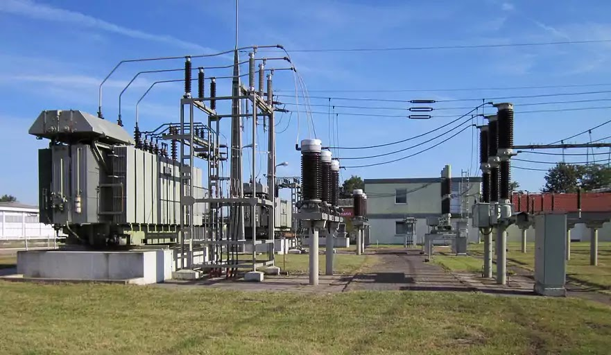 Electrical Power Station, Transformer, Substation