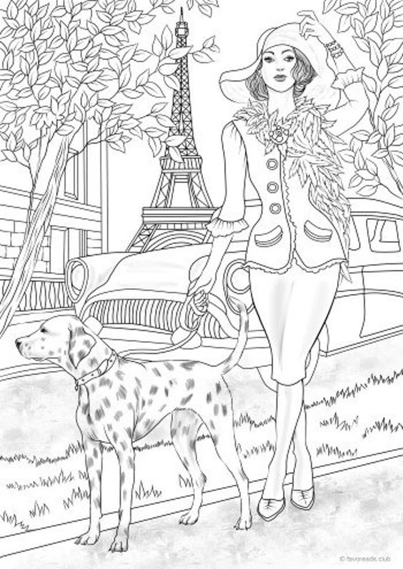 Dogs coloring pages 30