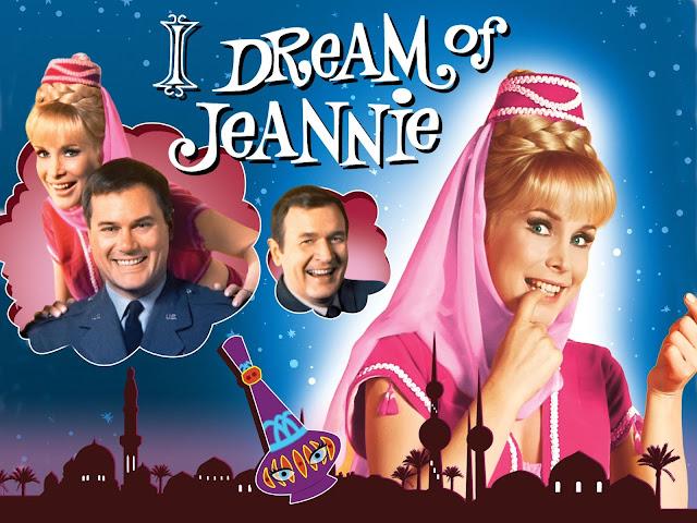Falando em Série: JEANNIE É UM GÊNIO (I dream of Jeannie) 1965