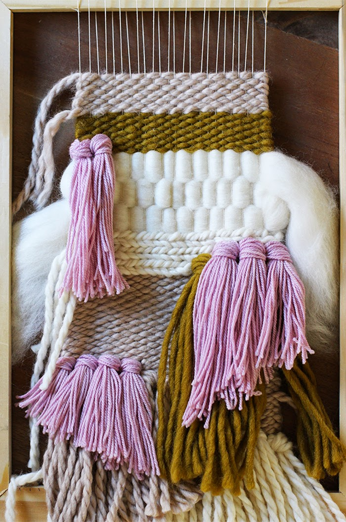 Weekend Project 10 Weaving Tutorials Ideas Poppytalk