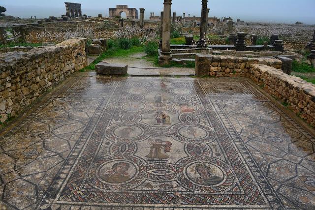 la maison de Dionysos Volubilis