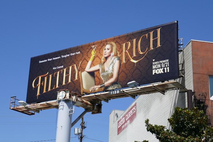 Filthy Rich series premiere billboard