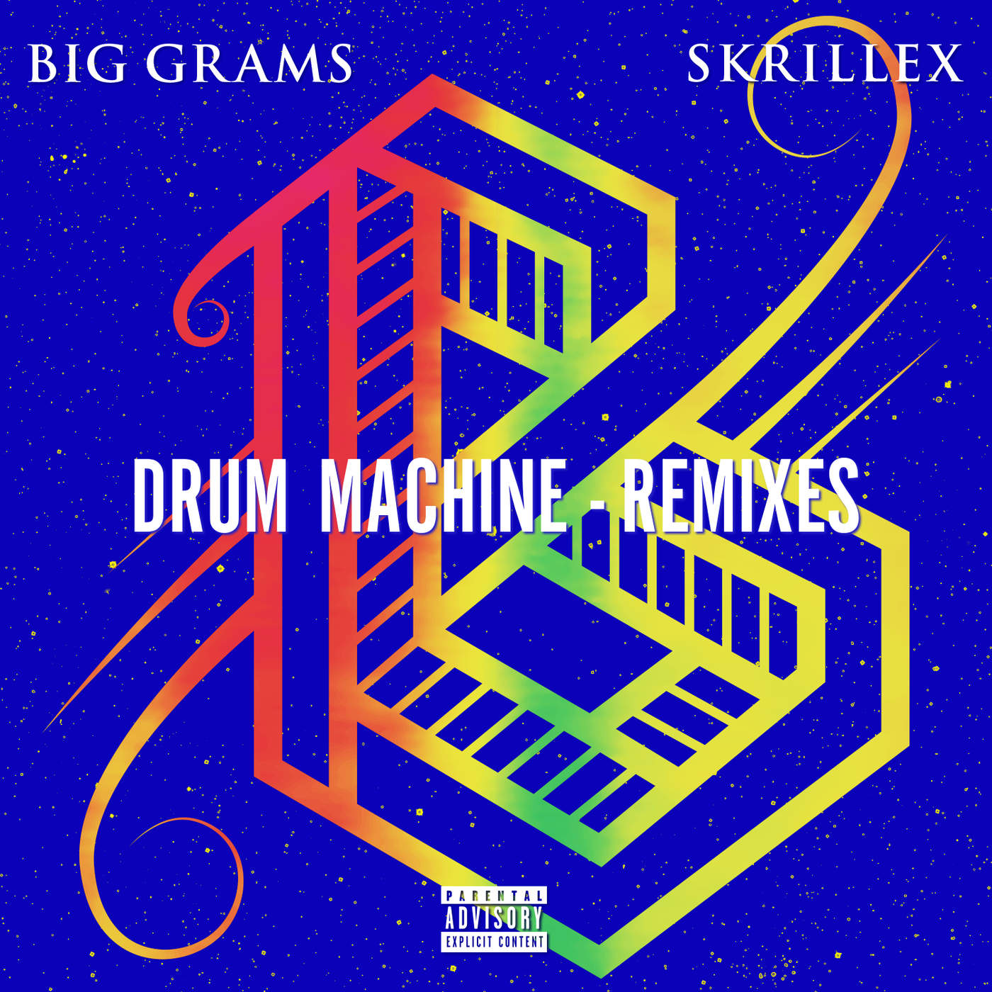 Big Grams - Drum Machine (feat. Skrillex) [Remixes] - EP Cover