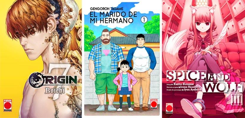 Novedades Panini Cómics España octubre 2019: manga seinen