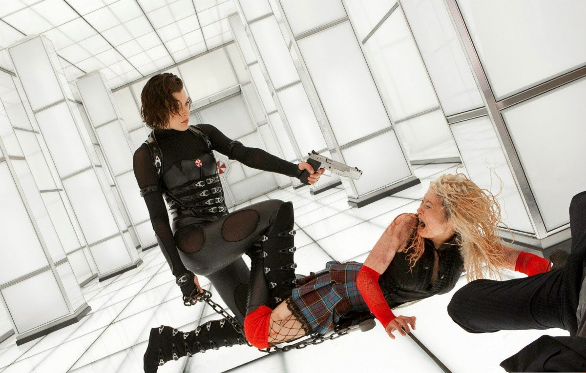 Celluloid Word Slick Resident Evil Retribution The Girl With A