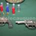 Detienen a sujeto por infracción a la ley de drogas y tenencia ilegal de armamento