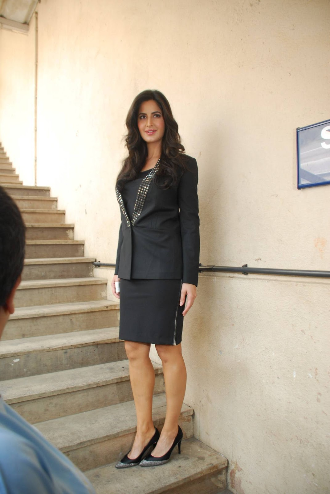 Katrina Kaif Latest Stills In Hot Black Dress