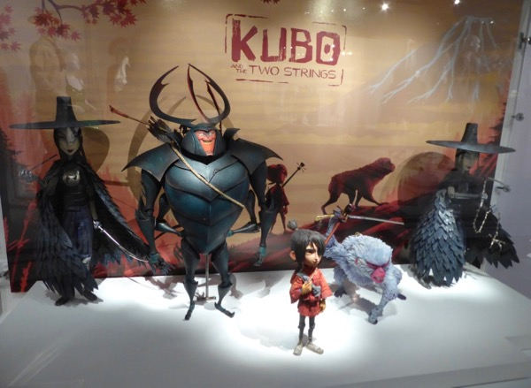 Kubo and Two Strings stop-motion animation exhibit