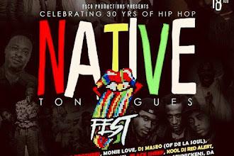 Native Tongues Fest Celebrating 30 Years of Hip Hop-Washington DC