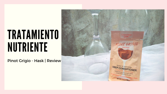 Review | Tratamiento Nutriente Pinot Grigio - Hask