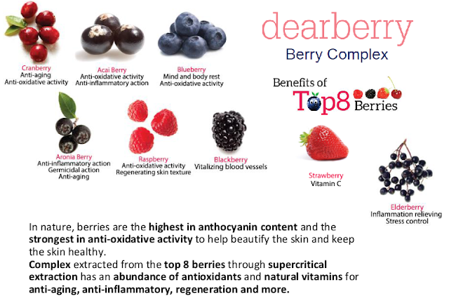 dearberry berry complex