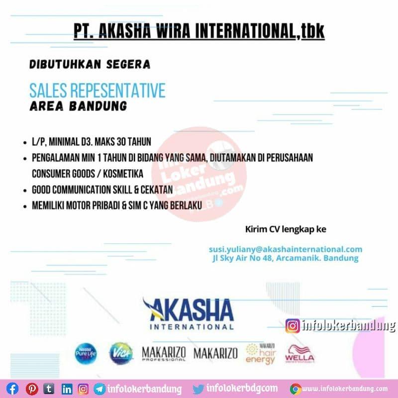 Lowongan Kerja PT. Akasha Wira International Tbk Bandung Juli 2021
