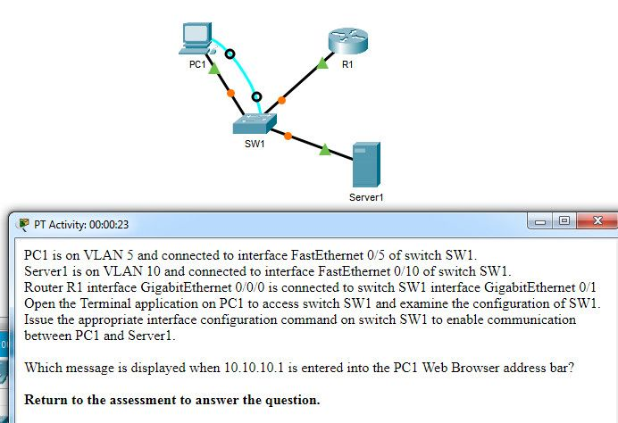 CCNA 2 v7.0 Modules 1 – 4 Exam Answers p77