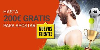 Luckia bono bienvenida 200 euros blog JRVM