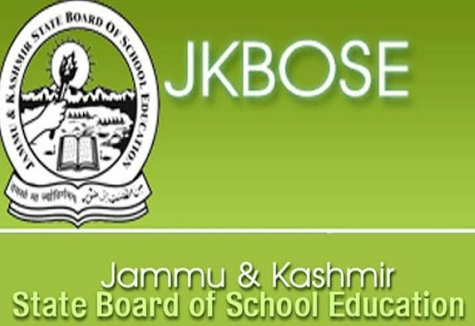 JKBOSE Important Notification Regarding 10th and 12th Class Result