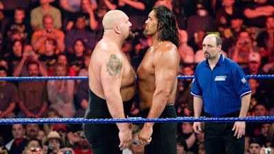 Comparación tamaño Gran Khali vs Big Show