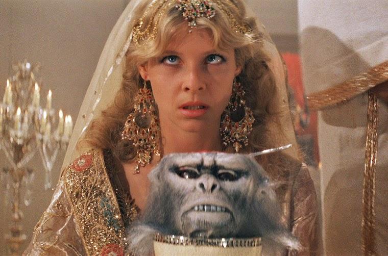 Willie Scott (Kate Capshaw) in INDIANA JONES UND DER TEMPEL DES TODES (1984). Quelle: Paramount Blu-ray
