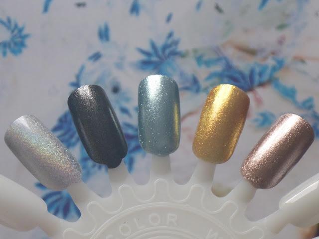 Barry M Molten Metal Nails Paint
