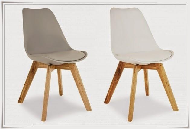 Stilig VillaWikan: Eames stoler BC-97