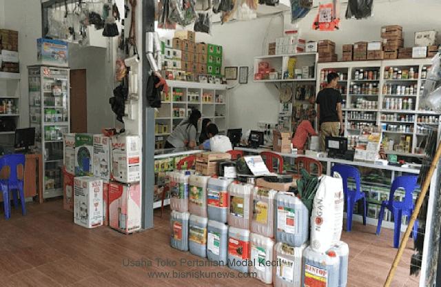 bisnis toko pertanian