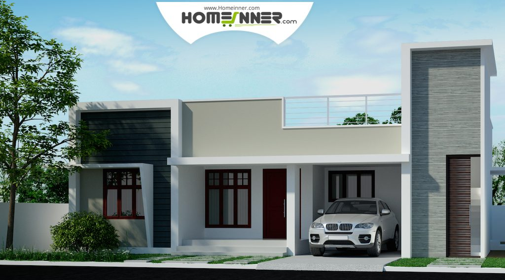 50 different custom home designs of beautiful houses for Exterior house designs in india low budget