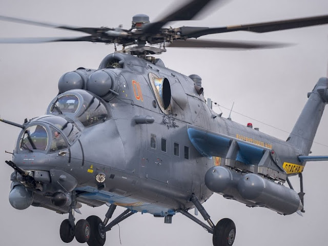 Equipped with Vikhr-M, many countries are interested in Mi-35M