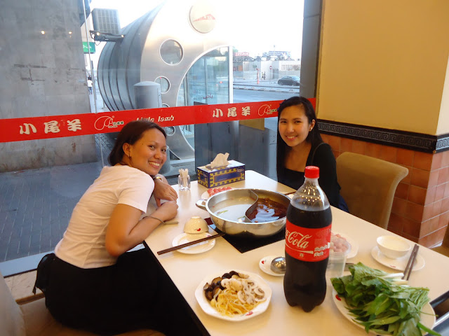 lady and a friend at Xiao Wei Yang