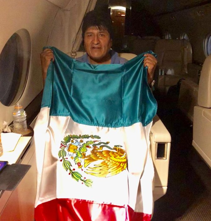 Morales usó su cuenta en Twitter para despedirse del país  / TWTTER