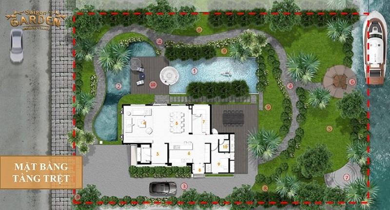 Thông tin dự án biệt thự Saigon Garden Riverside Village