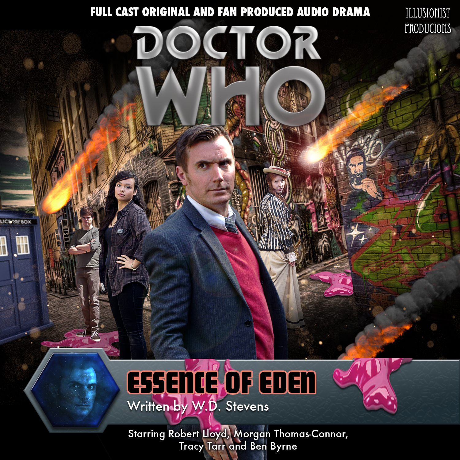 The Aussie Doctor - Doctor Who - Robert Lloyd Doctor - ALL current material - W.D. Stevens