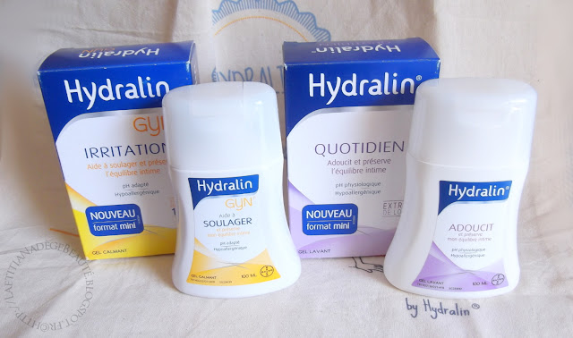 HYDRALINE Holiday Box by Hydralin Gels Intimes Gyn et Lotus
