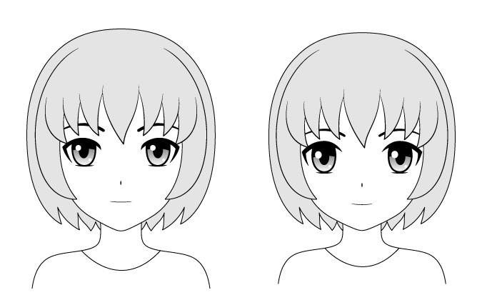Anime menghadapi gaya yang sama