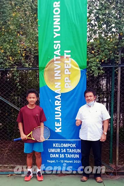 Ini Jadwal Final Kejuaraan Invitasi Tenis Yunior PP PELTI Kelompok Umur 14 dan 16 Tahun Putra