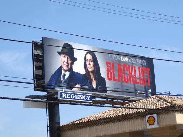 Blacklist season 3 Emmy 2016 FYC billboard