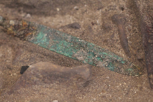 4,000-year-old Canaanite warrior grave found in Sidon dig