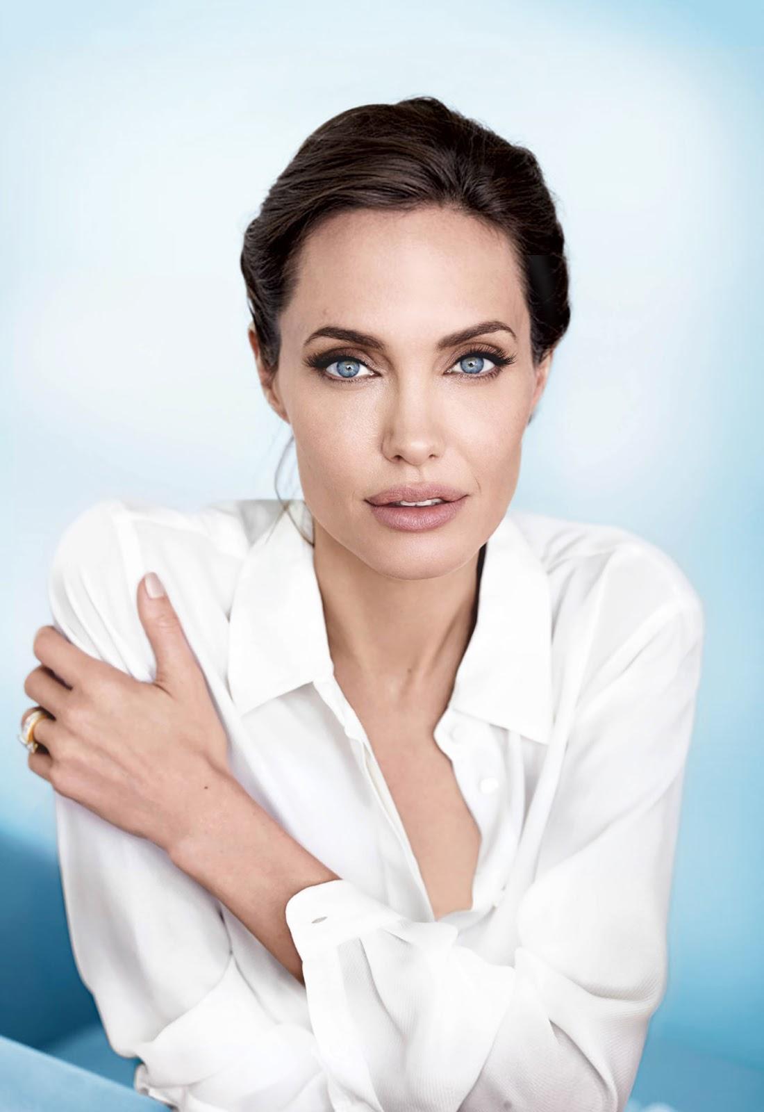 Angelina Jolie Look Using All Drugstore Makeup: Loveisspeed.......: ANGELINA JOLIE For VANITY FAIR By