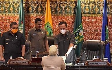 DPRD Riau Gelar Rapat Paripurna Raperda Sekaligus Pembentukan Pansus