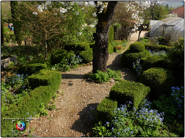 LAY-SAINT-CHRISTOPHE (54) - Jardin d'Adoué en avril !