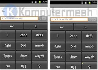 Cara Merubah Tampilan Keyboard Android Qwerty ke Tampilan Biasa