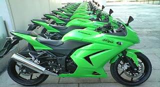 Daftar Harga Motor Kawasaki Bekas